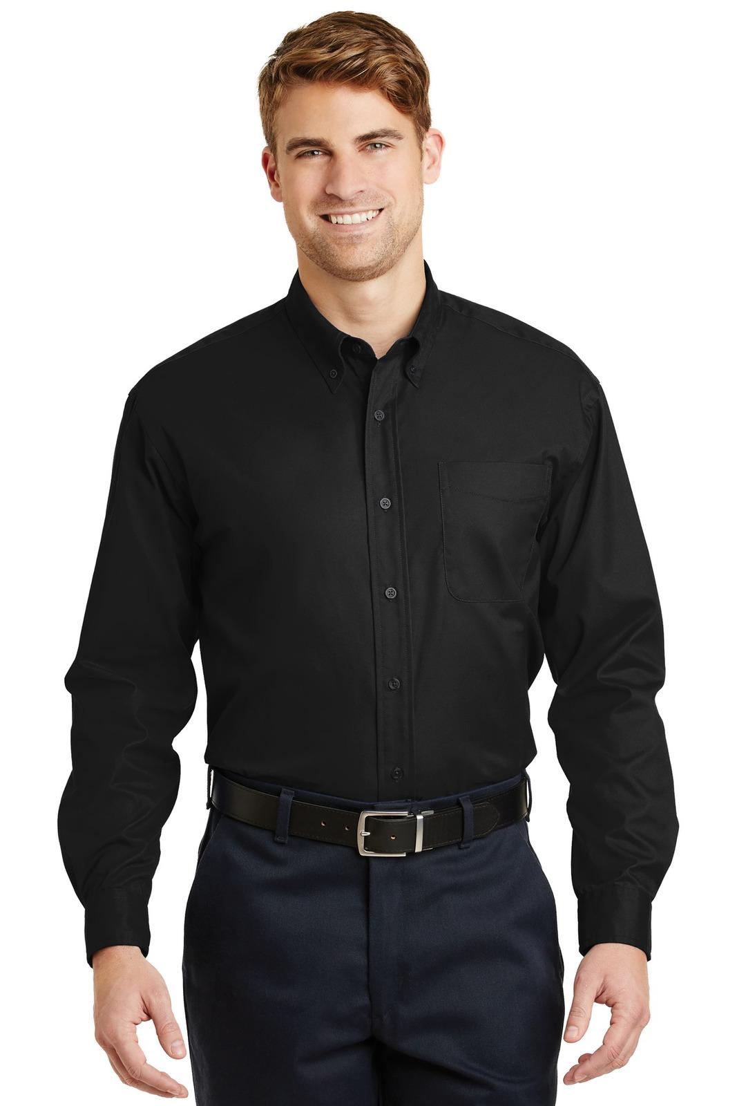 CornerStone - Long Sleeve SuperPro Twill Shirt. SP17