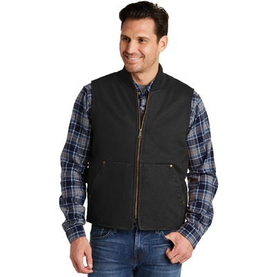 CornerStone Washed Duck Cloth Vest. CSV40