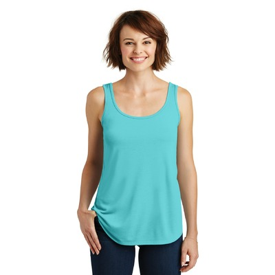 District Made Ladies Drapey Tank. DM414