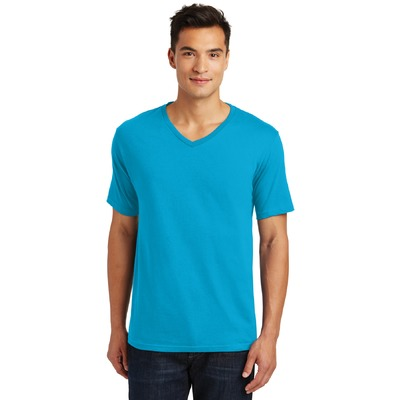 District Made® Mens Perfect Weight® V-Neck Tee. DT1170