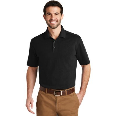 Port Authority SuperPro Knit Polo. K164