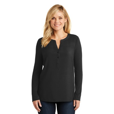 Port Authority Ladies Concept Henley Tunic. LK5432