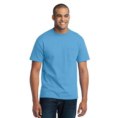Port & Company - Core Blend Pocket Tee. PC55P