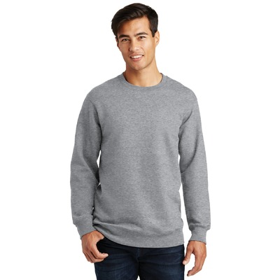 Port & Company Fan Favorite Fleece Crewneck Sweatshirt. PC850