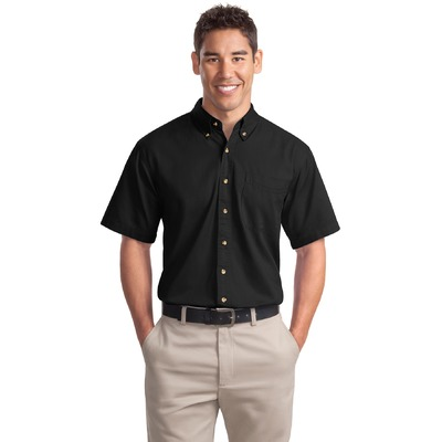Port Authority Short Sleeve Twill Shirt. S500T